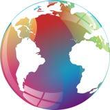 Globo terrestre Imagen de archivo libre de regalías