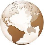 Globo transparente Imagem de Stock