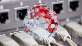 Globo vermelho que gerencie com ícones filme