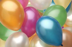 Globos. Royalty Free Stock Image