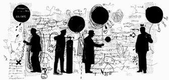 globos stock de ilustración