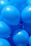 Globos azules Imagen de archivo libre de regalías