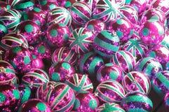 Globos britânicos do Natal Fotos de Stock
