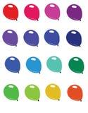 Globos coloreados Fotos de archivo libres de regalías