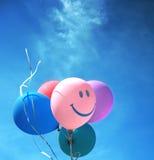 Globos coloreados Fotografía de archivo libre de regalías