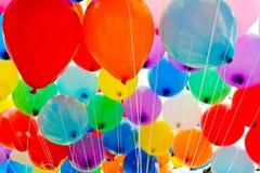 Globos coloridos. fotos de archivo libres de regalías