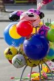 Globos coloridos fotos de archivo libres de regalías