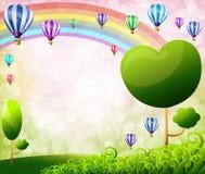 Globos coloridos Imagenes de archivo