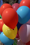 Globos coloridos Foto de archivo libre de regalías