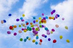 Globos coloridos Fotografía de archivo libre de regalías