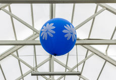 globos con las flores Fotografía de archivo libre de regalías