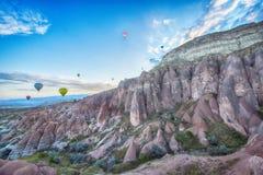 Globos de Cappadocia Imagenes de archivo