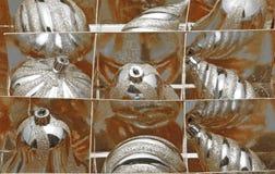 Globos de Chirsmas Fotografia de Stock Royalty Free