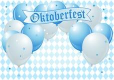 Globos de la celebración de Oktoberfest Imagen de archivo libre de regalías