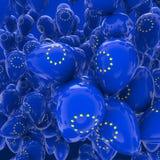 Globos de la UE Imagenes de archivo