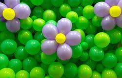 Globos de las flores Fotos de archivo libres de regalías