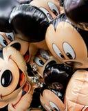 Globos de Mickey Mouse Imágenes de archivo libres de regalías