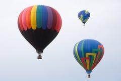 Globos del aire caliente Imagenes de archivo
