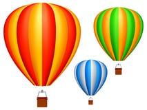 Globos del aire caliente. Foto de archivo libre de regalías