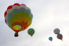 Globos del aire caliente Imagen de archivo libre de regalías