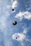 Globos del aire caliente Fotografía de archivo libre de regalías