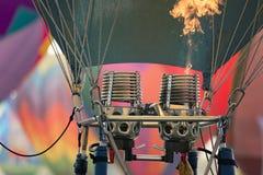 Globos del aire caliente imágenes de archivo libres de regalías