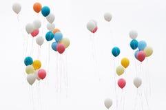 Globos del color Imagen de archivo libre de regalías