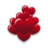 Globos del corazón Libre Illustration