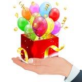 Globos del cumpleaños Fotos de archivo libres de regalías