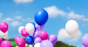 Globos del día de fiesta Fotos de archivo libres de regalías