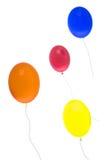 Globos del helio Foto de archivo