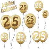 globos del jubileo stock de ilustración