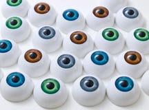 Globos del ojo Fotos de archivo