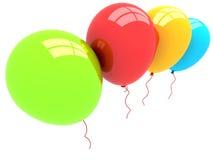 globos del partido 3D Fotos de archivo