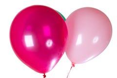 Globos del partido del feliz cumpleaños Fotografía de archivo libre de regalías