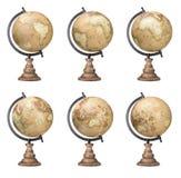 Globos do mundo Imagem de Stock Royalty Free