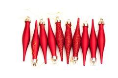 Globos do Natal Fotos de Stock Royalty Free