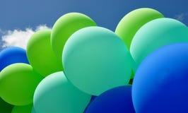 Globos en colores pastel Foto de archivo libre de regalías