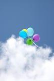 Globos en el cielo Fotos de archivo