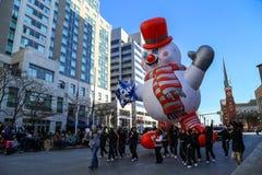 Globos en el desfile del día de fiesta Foto de archivo