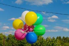 Globos - es siempre un día de fiesta Foto de archivo