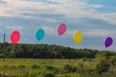Globos - es siempre un día de fiesta Foto de archivo libre de regalías