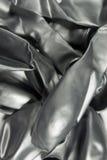 Globos metálicos de plata del helio Foto de archivo libre de regalías