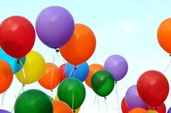globos multicolores Fotos de archivo libres de regalías