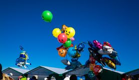 Globos multicolores Fotografía de archivo