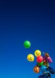 Globos multicolores Imagenes de archivo