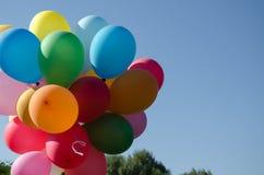 Globos multicolores Foto de archivo