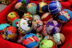 Globos para el árbol de navidad Imagen de archivo libre de regalías