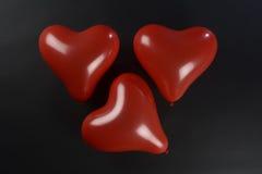 Globos rojos Fotografía de archivo libre de regalías