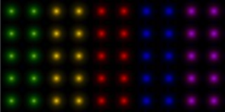 Globos tridimensionales multicolores abstractos libre illustration
